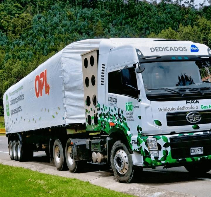 transporte de carga en colombia